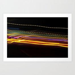 Dallas Traffic #135 Art Print