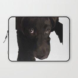 Chocolate Labrador Puppy Laptop Sleeve