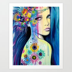 -Wild Youth- Art Print