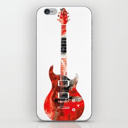 Bass Guitar - Buy Colorful Abstract Musical Instrument iPhone Skin