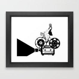 Cinema Paradiso Framed Art Print