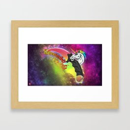 Knife karambit 2 Framed Art Print