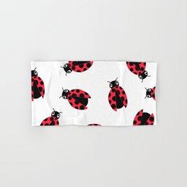 Crawling Ladybugs Hand & Bath Towel