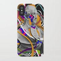 washington iPhone & iPod Cases featuring George Washington by Danny Ivan
