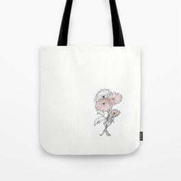 flower illustration Tote Bag