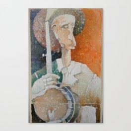 Banjo Player 1 Canvas Print