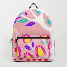 Love Grows Forever - Blush Peach Backpack