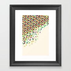 Suntan Funfetti 2 Framed Art Print