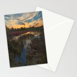 Autumn Dolly Sods Sunset Stationery Cards
