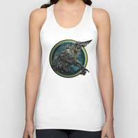 pacific rim Tank Tops featuring Knifehead - Pacific Rim by Leamartes