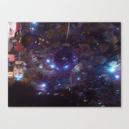 Distorted Christmas Canvas Print