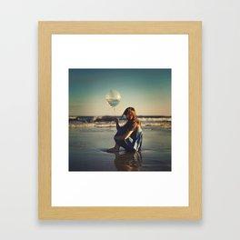 It takes an ocean Framed Art Print