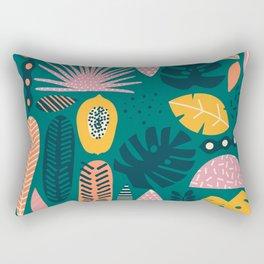 Jungle vibe Rectangular Pillow