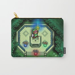 Zelda Link to the Past Master Sword Carry-All Pouch