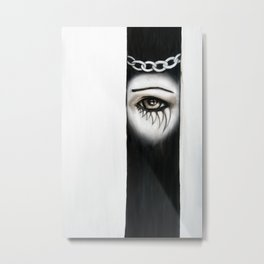Consequence Metal Print