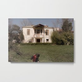 Old house photoshooting Metal Print