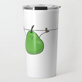 Hanging Pear Travel Mug