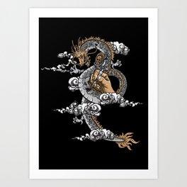 God of Tattoo Art Print