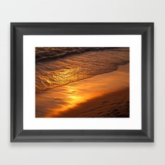 Time to relax Framed Art Print