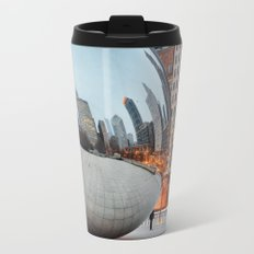 Chicago Bean - Big City Lights Travel Mug