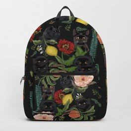Botanical and Black Cats Backpack