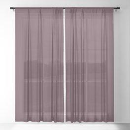 NEW YORK FASHION WEEK 2019- 2020 AUTUMN WINTER ROCKY ROAD Sheer Curtain