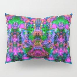 Ultraviolet Totem II (psychedelic) Pillow Sham