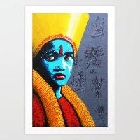 little krishna Art Print