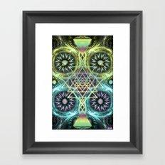 Ascension Portal - Activation Framed Art Print