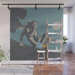 skate girl Wall Mural