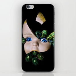Little Broken Dolly Face - Halloween III iPhone Skin
