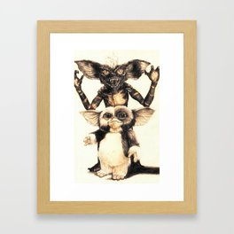 Gizmo by Aaron Bir Framed Art Print