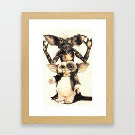 Gizmo by Aaron Bir Framed Art Print