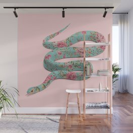 FLORAL SNAKE Wall Mural