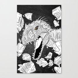 Indominus Rex Canvas Print