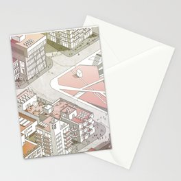 Beirut, Pink is your color Stationery Cards
