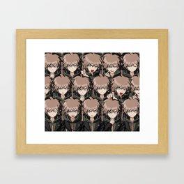 Makoto Naegi Framed Art Print