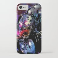 venom iPhone & iPod Cases featuring Venom by Vincent Vernacatola