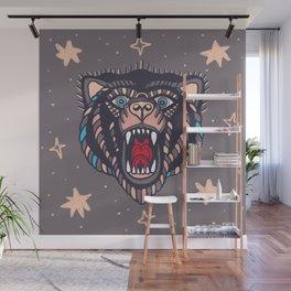 bear roar Wall Mural