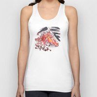 carousel Tank Tops featuring Carousel by bellevuetriangle