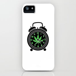 420 Time | Weed Cannabis Marihuana Stoner Gifts iPhone Case
