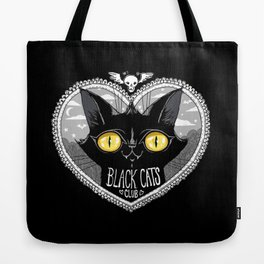 Black Cats Club Tote Bag