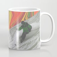 rasta Mugs featuring Rasta Corner by Calepotts