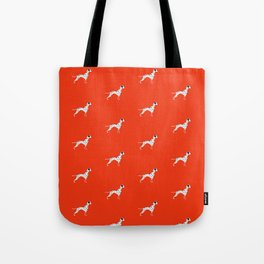 DALMATIANS ((cherry red)) Tote Bag