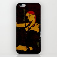 redhead iPhone & iPod Skins featuring Redhead by Sandra Höfer
