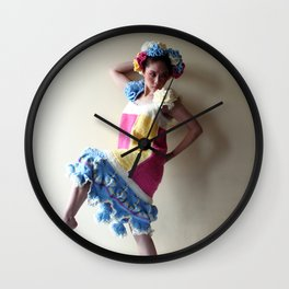 Yarn For Spring (2) Wall Clock