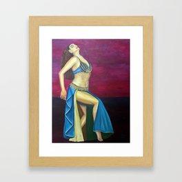 Feel the Rhythm Framed Art Print