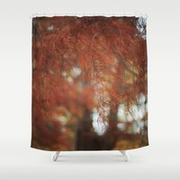 redhead Shower Curtains featuring Redhead by Cinnamon Thursdays