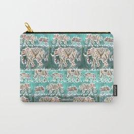 ELEPHANT INTELLIGENTSIA Boho Tribal Carry-All Pouch