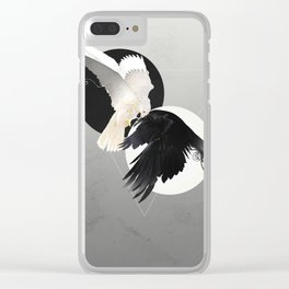 Together We Will Live Forever Clear iPhone Case